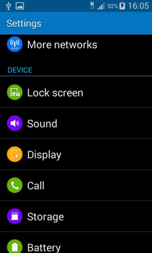 Secure phone - Samsung Galaxy Core 2 - Android 4 4 - Device