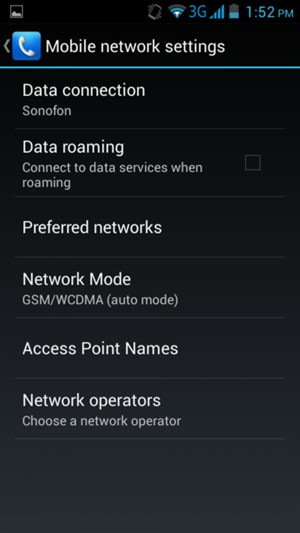 Set up Internet - ZTE Blade L2 - Android 4 2 - Device Guides