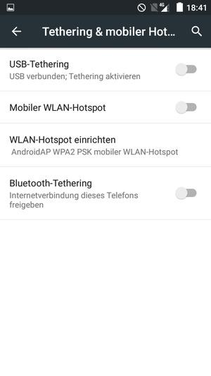 verwendung des handys als modem caterpillar cat s40 android 5 1 device guides. Black Bedroom Furniture Sets. Home Design Ideas