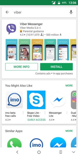 Install apps - Alcatel 3C - Android 7 0 - Device Guides