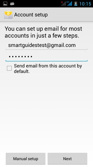 how to set up gmail account on android