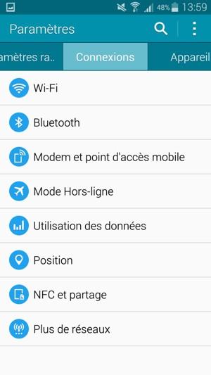 utilisez votre t l phone comme modem samsung galaxy a5 android 4 4 device guides. Black Bedroom Furniture Sets. Home Design Ideas