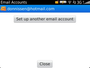 Your Hotmail is ready to use