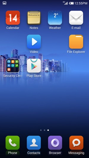 Set up POP3/IMAP email - Xiaomi Mi 3 - Android 4 4 - Device