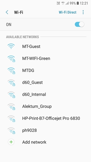 Connect to Wi-Fi - Samsung Galaxy J4 - Android 8 0 - Device