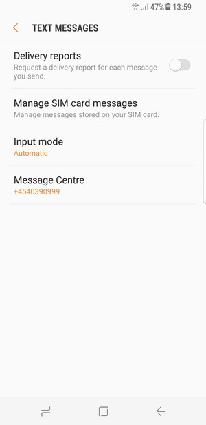Select Message Centre