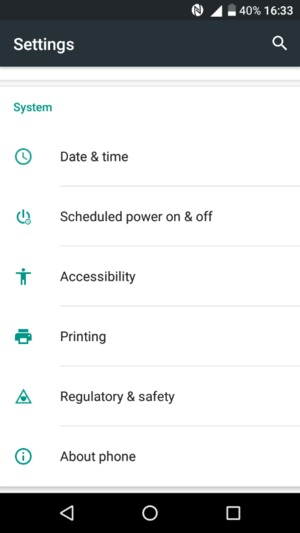 Update software - Alcatel A3 - Android 6 0 - Device Guides