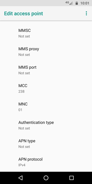 Set up Internet - Motorola Moto E5 Play - Android 8 1