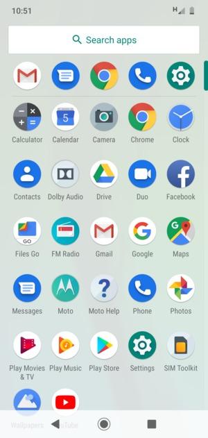 Set up roaming - Motorola Moto G6 Play - Android 9 0