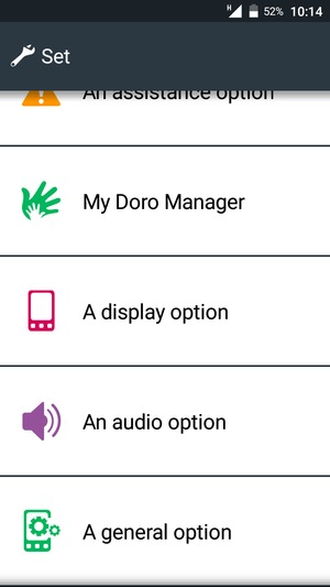 Switch between 2G/3G/4G - Doro Android - Android 7 1 - Device Guides