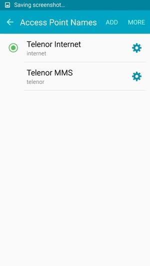 Set up Internet - Samsung Galaxy J3 (2016) - Android 5 1