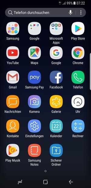 Samsung Galaxy S8 Sim Karte Wechseln.Sichern Von Handy Samsung Galaxy S8 Android 7 0 Device Guides