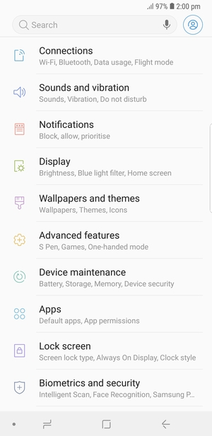 Set up MMS - Samsung Galaxy Note9 - Android 8 1 - Device Guides
