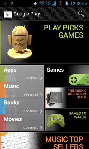 Install apps - Lenovo Android - Android 4 1 - Device Guides