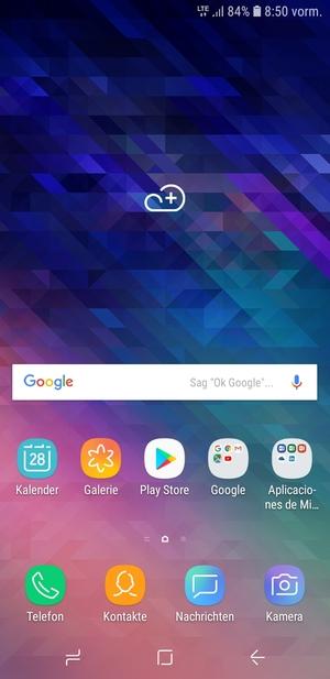 Einrichten Von Internet Samsung Galaxy A6 2018 Android 80