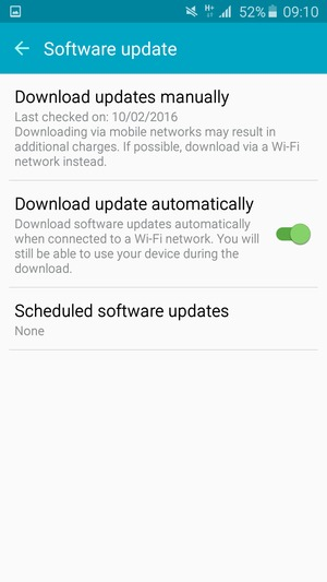 Update software - Samsung Galaxy J3 (2016) - Android 5 1 - Device Guides