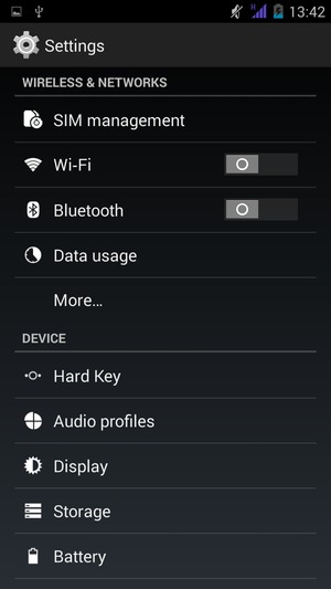 Connect to Wi-Fi - ZTE Blade L3 Plus - Android 4 4 - Device Guides