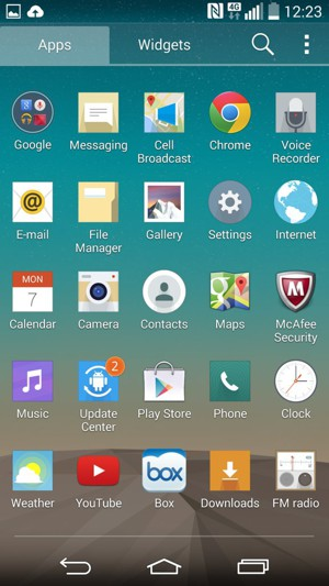 Install apps - LG Android - Android 4 4 - Device Guides