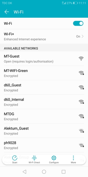 Connect to Wi-Fi - Huawei Honor 9 Lite - Android 8 0