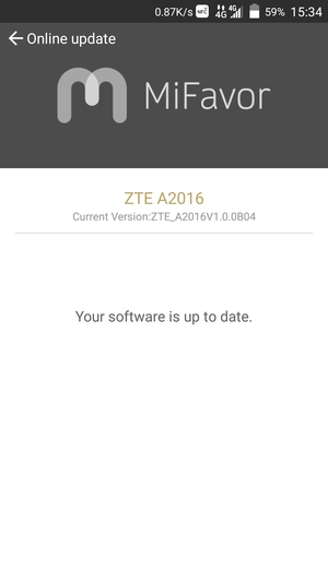 Update software - ZTE Android - Android 5 1 - Device Guides