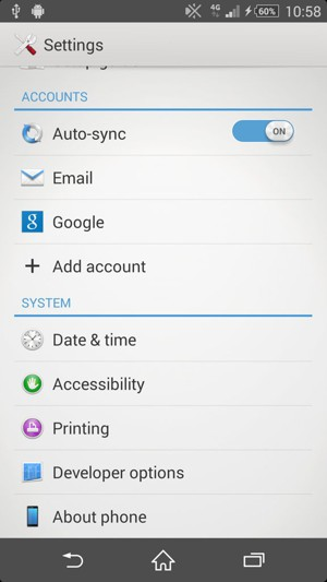 Update software - Sony Xperia C3 - Android 4 4 - Device Guides