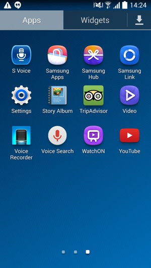Set up MMS - Samsung Galaxy S4 mini - Android 4 4 - Device