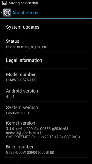 Update software - Huawei Ascend G610 - Android 4 2 - Device Guides