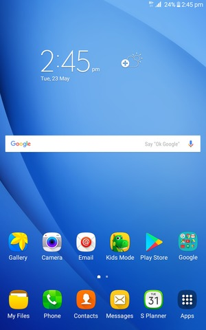 Set Up Internet Samsung Galaxy Tab A 7 0 2016 Android 5 1 Device Guides
