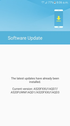 Update software - Samsung Galaxy J2 Prime - Android 6 0 - Device Guides
