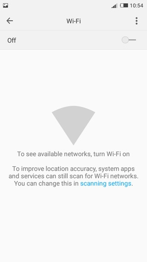 Connect to Wi-Fi - Tecno W5 Lite - Android 6 0 - Device Guides