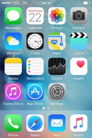 set up internet apple iphone 4s ios