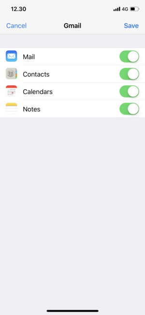 Set up Gmail - Apple iPhone X - iOS 11 - Device Guides