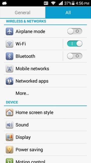 Set up Internet - Huawei Ascend G630 - Android 4 3 - Device Guides
