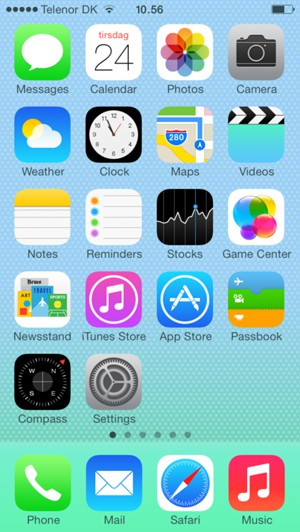 Install apps - Apple iPhone 4S - iOS 7 - Device Guides