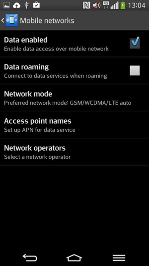Set up MMS - LG G Flex - Android 4.2