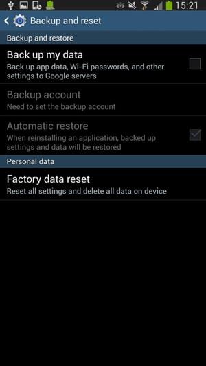 Back up phone - Samsung Galaxy Mega 6 3 - Android 4 2