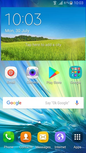 how to change voicemail on samsung a5