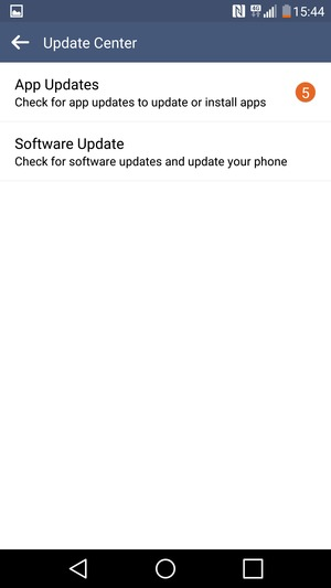 Update software - LG V10 - Android 6 0 - Device Guides