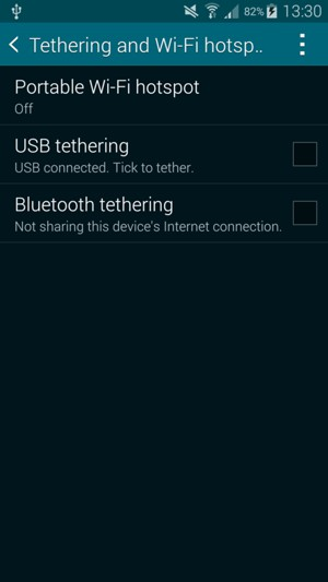 how to use samsung s5 as hotspot