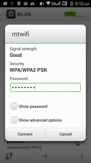 Connect to Wi-Fi - Lenovo A536 - Android 4 4 - Device Guides