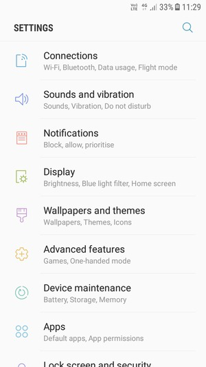 Set up MMS - Samsung Galaxy J3 (2017) - Android 7 0 - Device