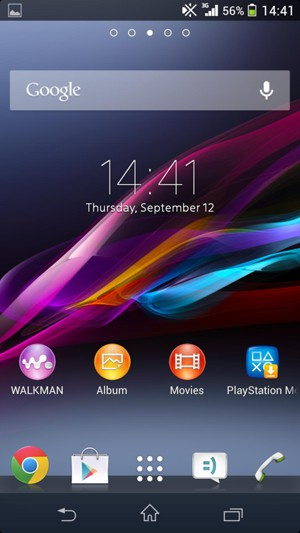 access voicemail sony xperia m android 4 3 device guides rh helpforsmartphone com