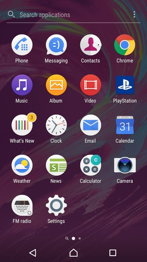 Set up Exchange email - Sony Xperia L1 - Android 7 0