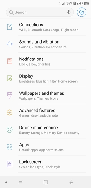 Set up Internet - Samsung Galaxy A6+ (2018) - Android 8 0 - Device