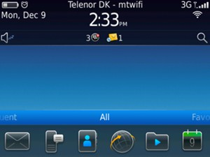 blackberry bold apps