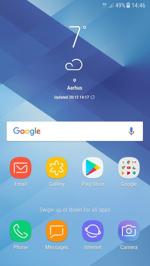 Install apps - Samsung Galaxy A3 (2017) - Android 7 0 - Device Guides