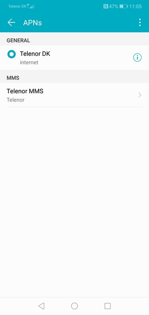 Set up Internet - Huawei Honor 8X Max - Android 8 1 - Device
