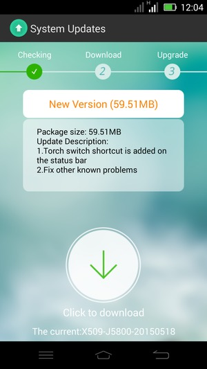 Update software - Infinix Zero 2 - Android 4 4 - Device Guides