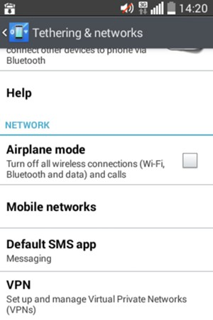 how to set up a mobile network
