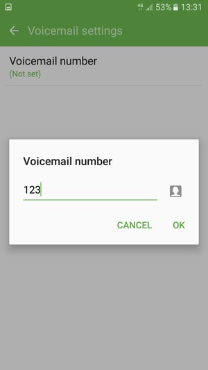 how to set up voicemail on samsung young